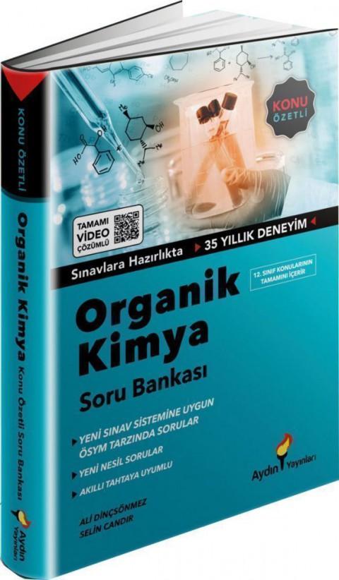 Aydın Yayınları YKS TYT AYT Organik Kimya Konu Özetli Soru Bankası