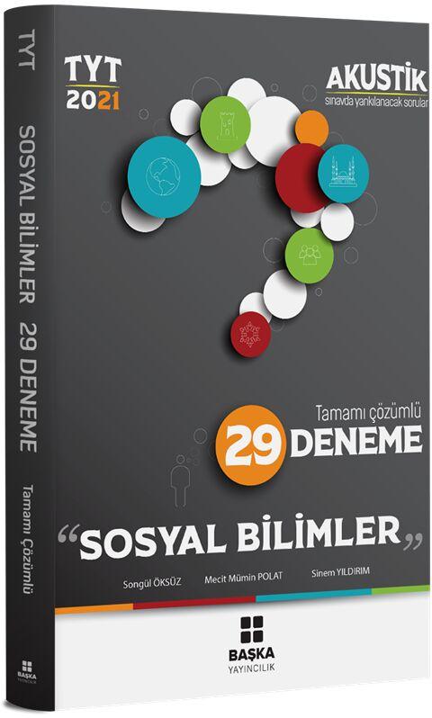Başka Yayıncılık 2021 TYT Sosyal Bilimler Akustik 29 Deneme