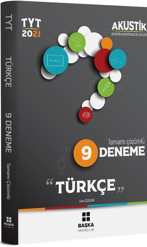 Başka Yayıncılık 2021 TYT Türkçe Akustik 9 Deneme