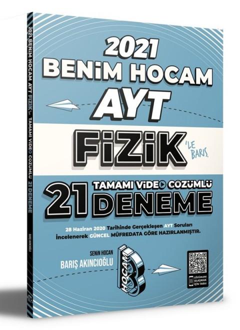 Benim Hocam Yayınları 2021 AYT Fizik Tamamı Video Çözümlü 21 Deneme Sınavı