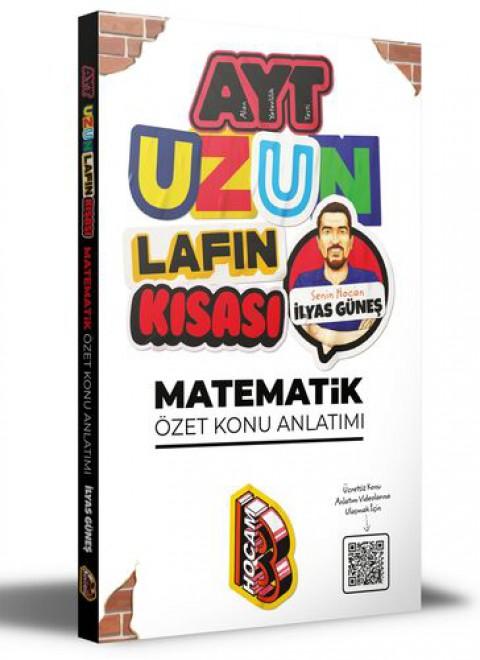 Benim Hocam Yayınları 2021 AYT Uzun Lafın Kısası Matematik Özet Konu Anlatımı