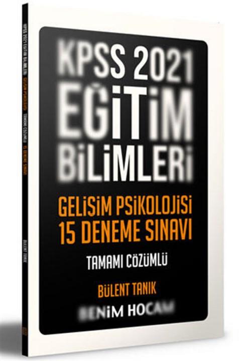 Benim Hocam Yayınları 2021 Eğitim Bilimleri Gelişim Psikolojisi Tamamı Çözümlü 15 Deneme