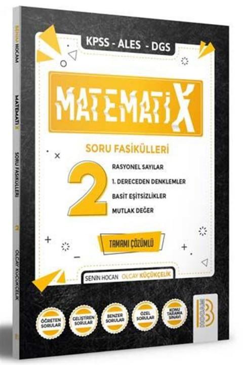 Benim Hocam Yayınları 2021 KPSS ALES DGS MatematiX Soru Fasikülleri 2