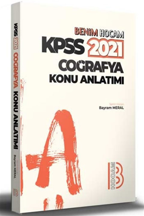 Benim Hocam Yayınları 2021 KPSS Coğrafya Konu Anlatımı