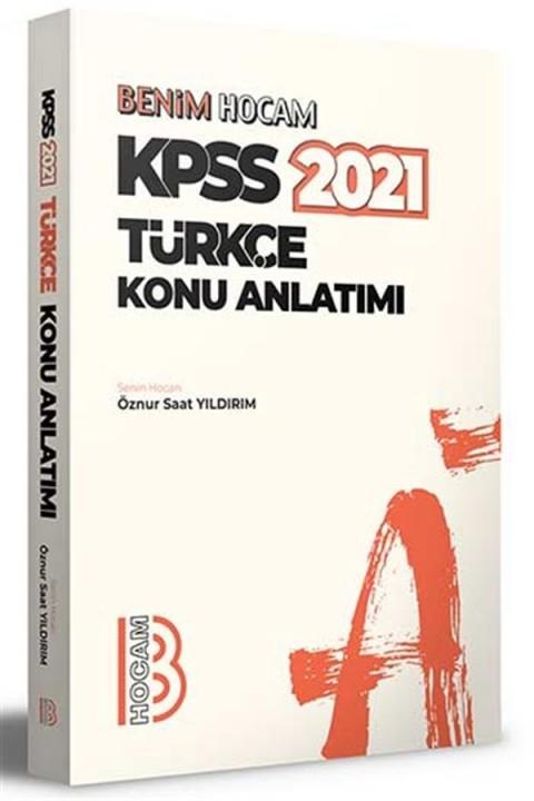 Benim Hocam Yayınları 2021 KPSS Türkçe Konu Anlatımı