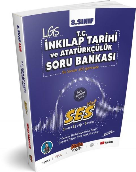Benim Hocam Yayınları 2021 LGS Ses Serisi İnkılap Tarihi ve Atatürkçülük  Soru Bankası