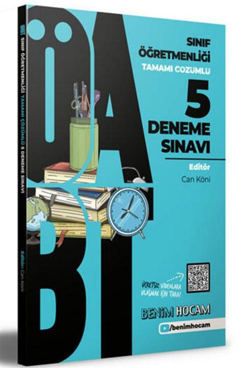 Benim Hocam Yayınları 2021 ÖABT Sınıf Öğretmenliği Tamamı Çözümlü 5 Fasikül Deneme
