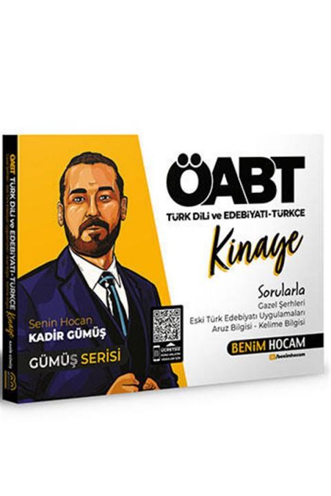 Benim Hocam Yayınları 2021 ÖABT Türk Dili ve Edebiyatı Türkçe Kinaye Soru Bankası