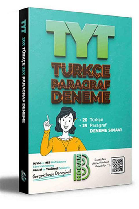 Benim Hocam Yayınları 2021 TYT 20 Türkçe 25 Paragraf Denemeler