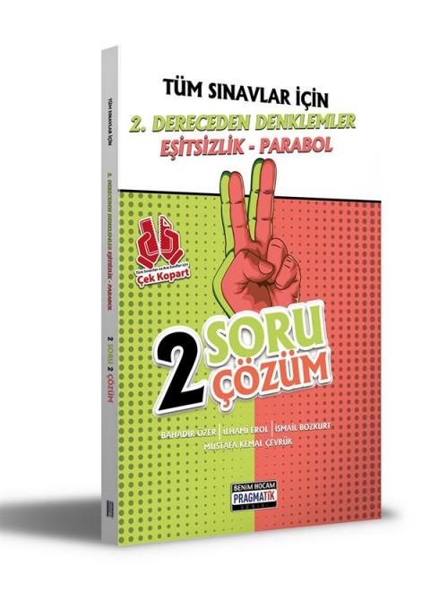 Benim Hocam Yayınları 2021 Tüm Sınavlar İçin 2. Dereceden Denklemler - Eşitsizlik - Parabol 2 Soru 2 Çözüm Fasikülü