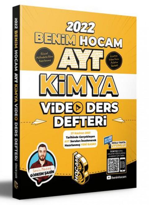 Benim Hocam Yayınları 2022 AYT Kimya Video Ders Defteri