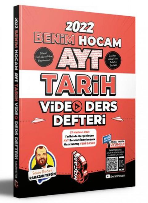 Benim Hocam Yayınları 2022 AYT Tarih Video Ders Defteri