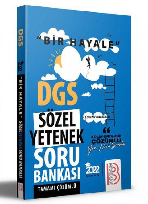 Benim Hocam Yayınları 2022 Bir Hayale Serisi DGS Sözel Yetenek Tamamı Çözümlü Soru Bankası
