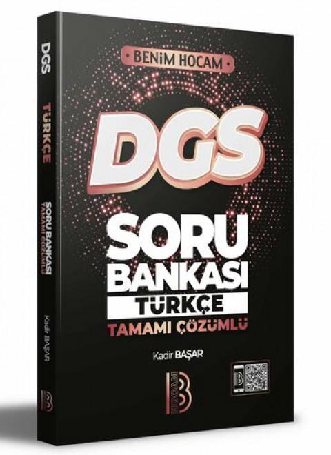 Benim Hocam Yayınları 2022 DGS Türkçe Tamamı Çözümlü Soru Bankası