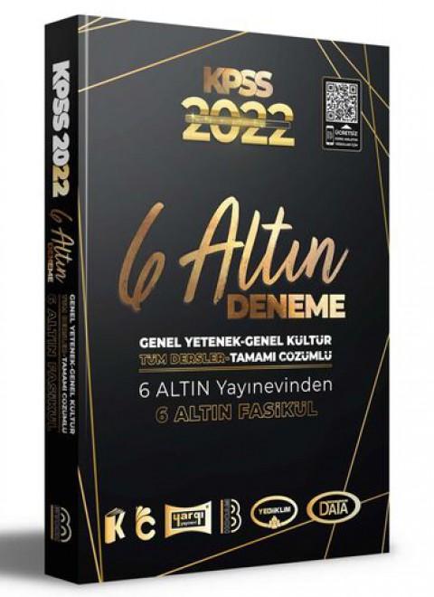 Benim Hocam Yayınları 2022 KPSS Genel Yetenek Genel Kültür Tamamı Çözümlü 6 Altın Deneme
