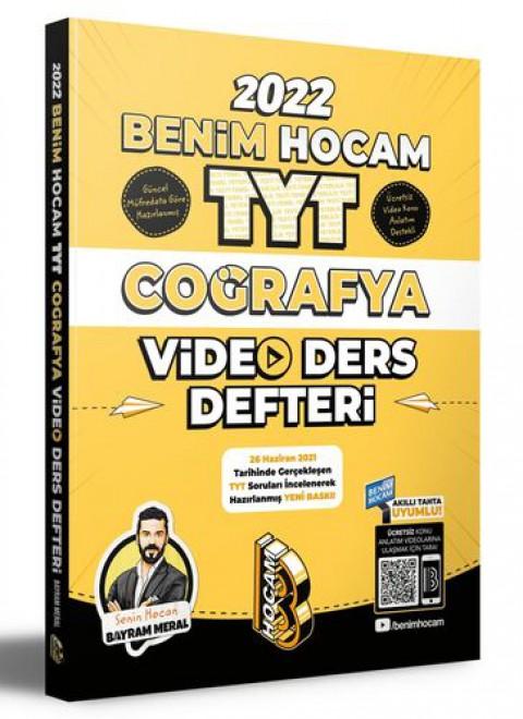 Benim Hocam Yayınları 2022 TYT Coğrafya Video Ders Defteri