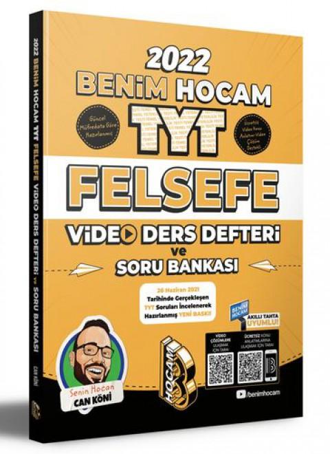 Benim Hocam Yayınları 2022 TYT Felsefe Video Ders Defteri ve Soru Bankası