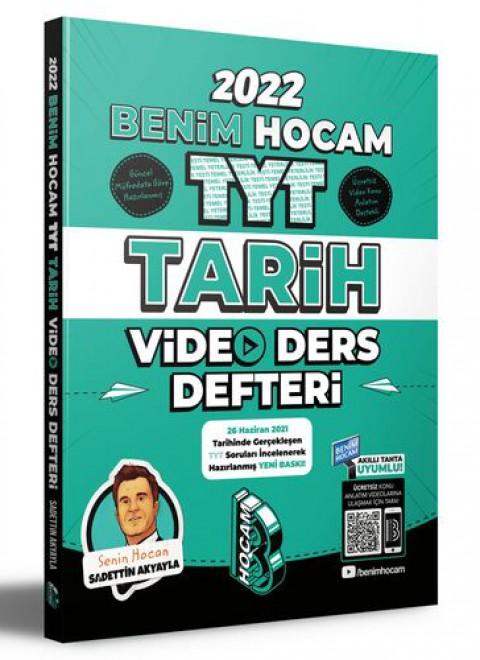Benim Hocam Yayınları 2022 TYT Tarih Video Ders Defteri
