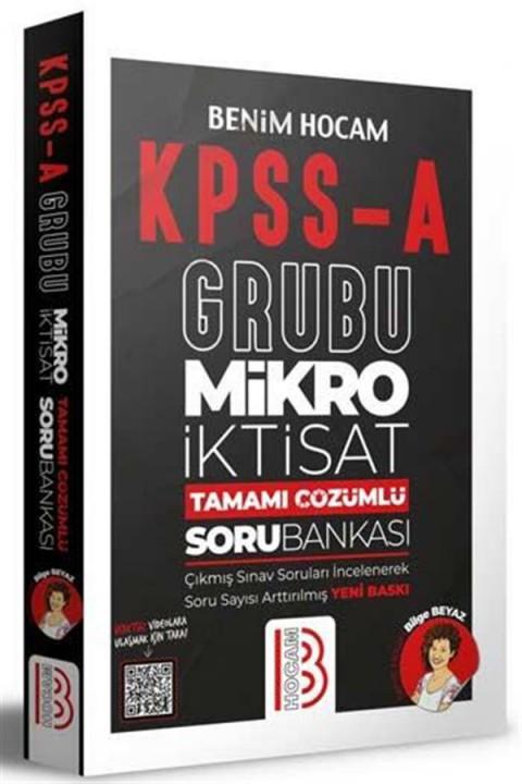 Benim Hocam Yayınları KPSS A Grubu Mikro İktisat Tamamı Çözümlü Bankası