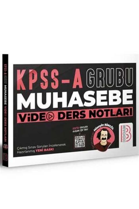 Benim Hocam Yayınları KPSS A Grubu Muhasebe Video Ders Notları