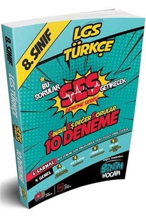 Benim Hocam Yayınları LGS 8. Sınıf SES Getirecek Türkçe 10 Deneme