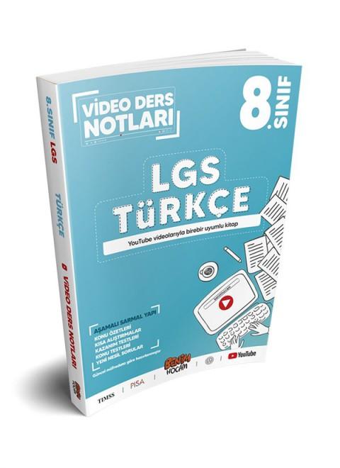 Benim Hocam Yayınları LGS 8.Sınıf Türkçe Video Ders Notları