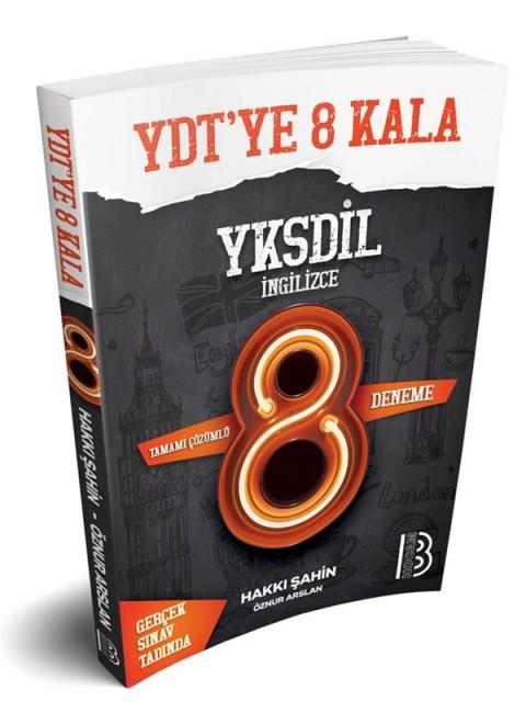 Benim Hocam Yayınları Tamamı Çözümlü YDT-YKSDİL 8 Deneme