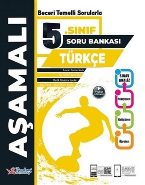 Berkay Yayıncılık 5. Sınıf Türkçe Aşamalı Soru Bankası