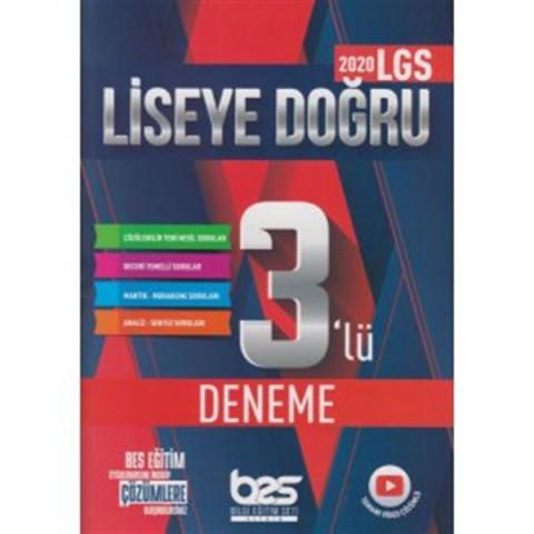Bes Yayınları 8. Sınıf LGS 1. Dönem Liseye Doğru 3 lü Deneme