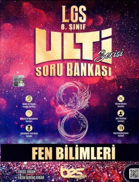 Bes Yayınları 8. Sınıf LGS Fen Bilimleri Ulti Serisi Soru Bankası