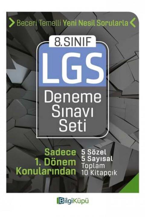 Bilgi Küpü Yayınları 8. Sınıf LGS 1. Dönem Deneme Sınavı