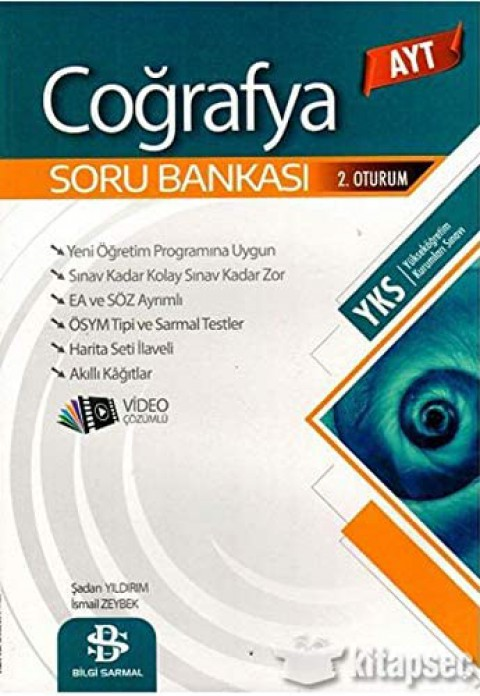 Bilgi Sarmal Yayınları AYT Coğrafya Soru Bankası