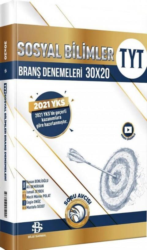 Bilgi Sarmal Yayınları TYT Sosyal Bilimler 30 x 20 Branş Denemeleri