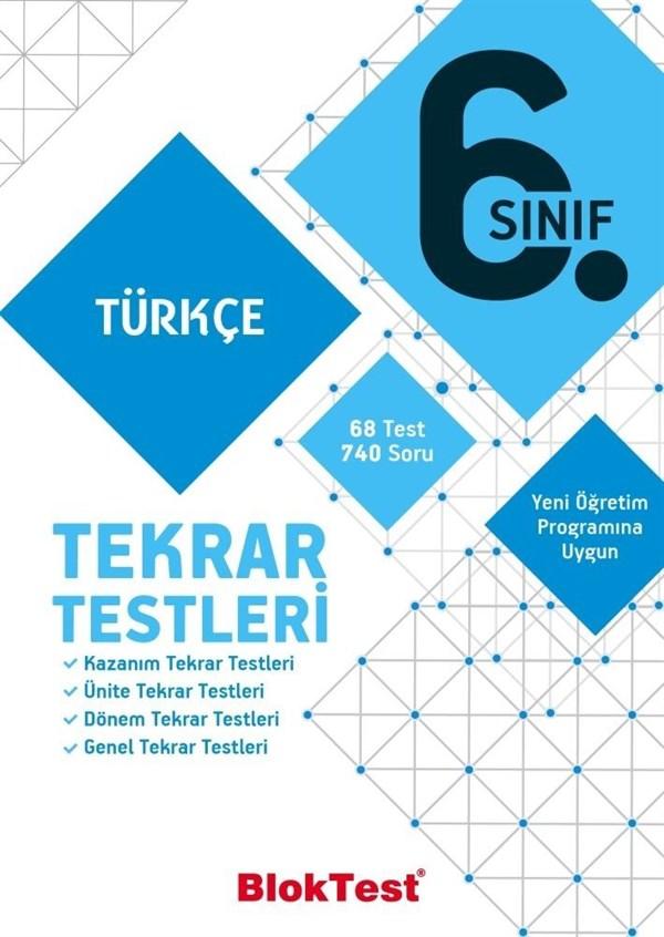 Bloktest Yayınları 6. Sınıf Türkçe Tekrar Testleri