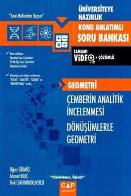 Çap Yayınları Çemberin Analitik İncelemesi - Dönüşümler Geometri Konu Anlatımlı Soru Bankası
