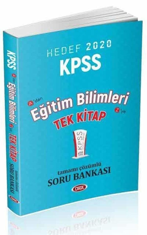 Data Yayınları 2020 KPSS Eğitim Bilimleri Tek Kitap Soru Bankası