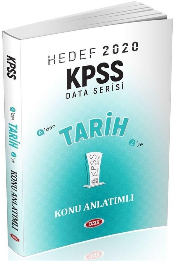 Data Yayınları KPSS Tarih Konu Anlatımlı