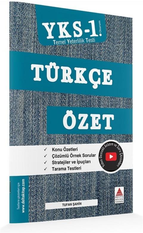Delta Kültür Yayınları TYT Türkçe Özet