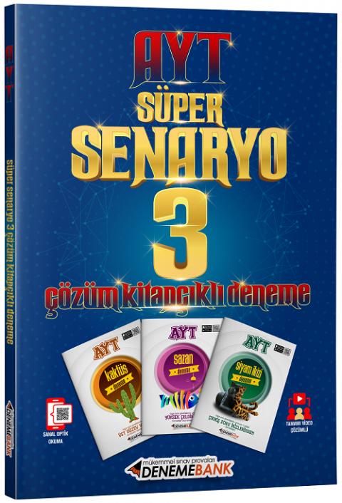 DenemeBank YKS AYT Süper Senaryo 3 Deneme