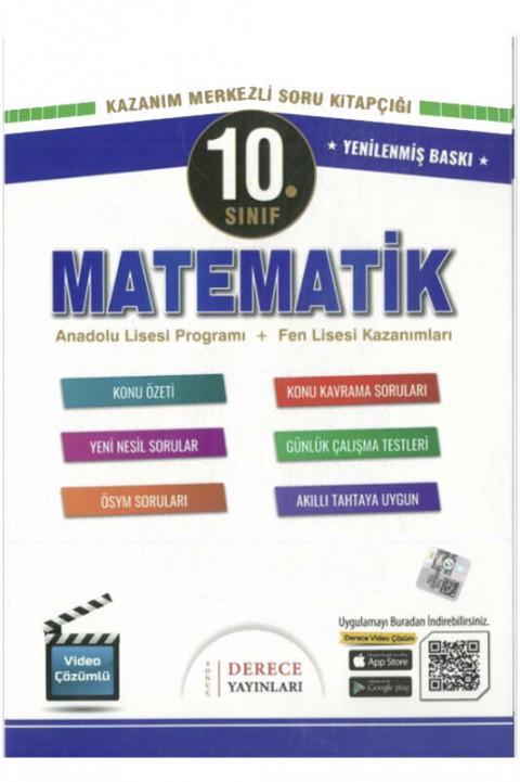 Derece Yayınları 10. Sınıf Matematik Modüler Set