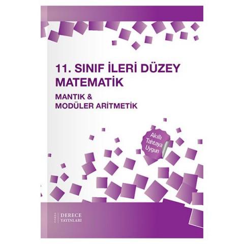 Derece Yayınları 11. Sınıf İleri Düzey Mantık ve Modüler Aritmetik