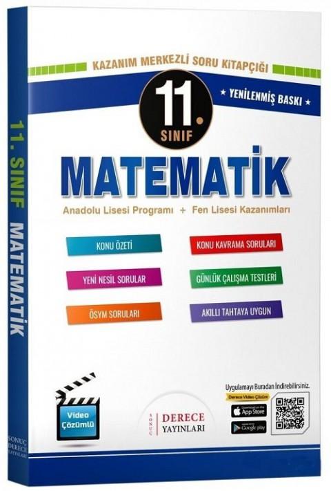 Derece Yayınları 11. Sınıf Matematik Modüler Set