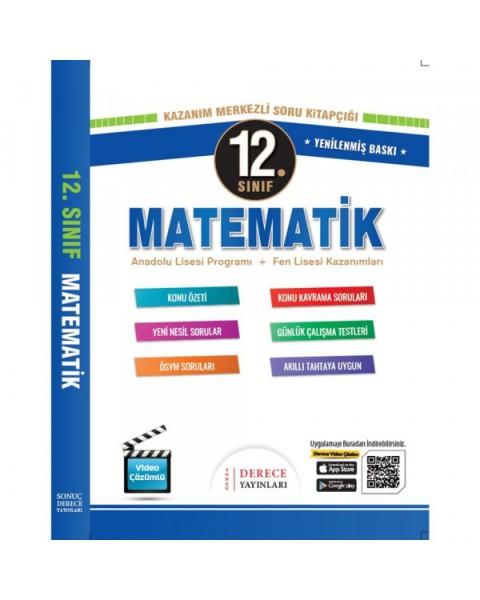 Derece Yayınları 12. Sınıf Matematik Modüler Set