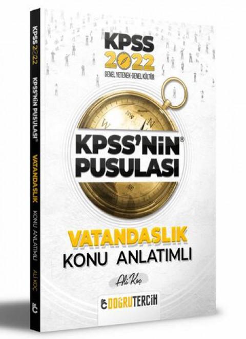Doğru Tercih Yayınları 2022 KPSS'NİN Pusulası Anayasa Konu Anlatımı