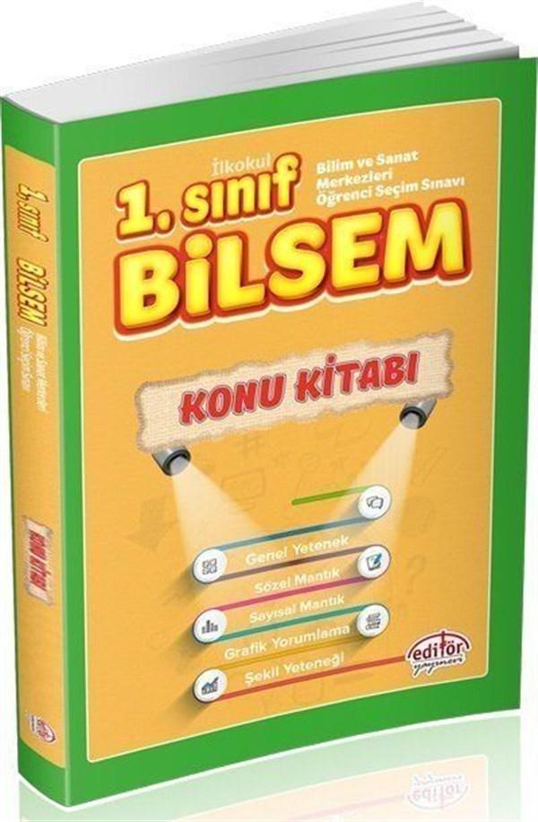 Editör Yayınları 1. Sınıf Bilsem Konu Kitabı