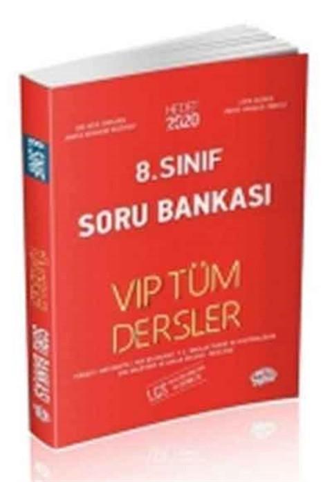 Editör Yayınları 8. Sınıf VIP Tüm Dersler Soru Bankası Kırmızı Kitap