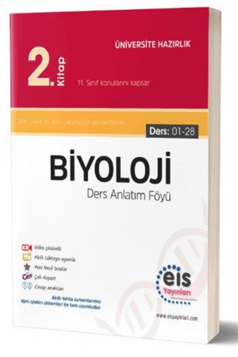 Eis Yayınları YKS Biyoloji Ders Anlatım Föyü 2. Kitap
