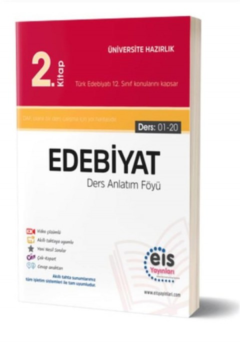 Eis Yayınları YKS Edebiyat Ders Anlatım Föyü 2. Kitap