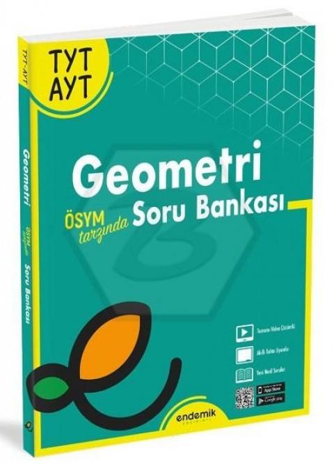 Endemik Yayınları YKS TYT AYT Geometri Soru Bankası