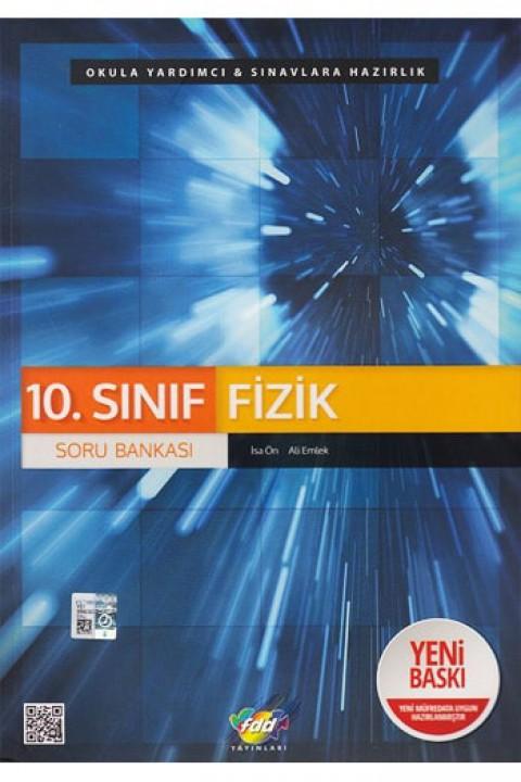 FDD Yayınları 10. Sınıf Fizik Soru Bankası